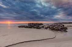 Sunset over Balevullin Beach, Tiree Beautiful World, The Great Outdoors, Islands, Scotland, Sunrise, Photos, Pictures, Therapy, Spaces