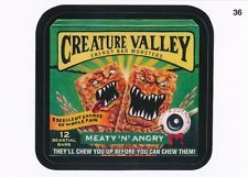 #36 CREATURE VALLEY/NATURE 2015 Topps Wacky Packages