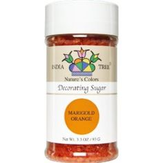 I'm learning all about India Tree Nature's Colors Decorating Sugars Marigold Orange at @Influenster!