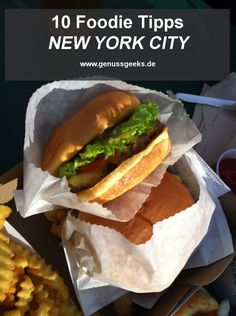 10 Foodie Tipps NEW YORK CITY