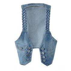 CNlinkco New Hot Casual Women Denim Vest Jacket Sleeveless Jean Coat