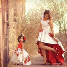 Mommy and me in matching Rosalina Dress and skirt  To shop click link on our profile  Or go to: http://ift.tt/29DR0NI