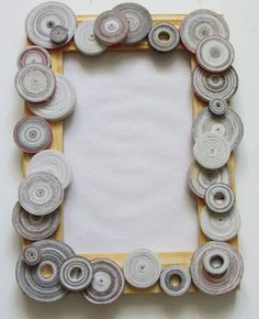 Recycled magazines paper