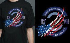 create custom t shirt Design within 8hrs