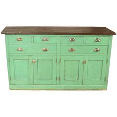 Vintage Laboratory Work Table Cabinet