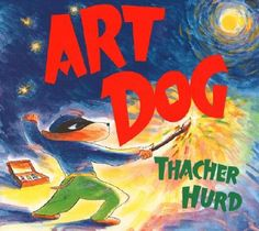 Art Dog - Really, really want my own brushmobile.