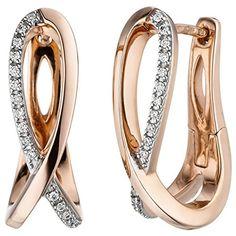 JOBO Creolen 585 Gold Rotgold 34 Diamanten Brillanten Ohr... https://www.amazon.de/dp/B074PVXM5F/?m=A105NTY4TSU5OS
