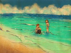 Summer sea by Puuung