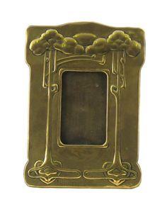Marion Henderson Wilson (1869-1956) - Frame. Cast Brass. Circa 1900. 31cm.