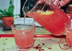 comfortable food - watermelon lemonade recipe
