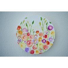 Alcohol ink Painting ($25) ❤ liked on Polyvore featuring home, home decor and wall art