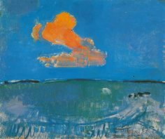 "alongtimealone: "" Piet Mondrian- Red Cloud """