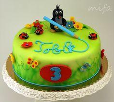Fondant Cake Maulwurf