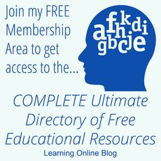 Join our FREE Membership Area to get access to the COMPLETE Ultimate Directory of Free Educational Resources Science Curriculum, Science Lessons, Teaching Kids, Kids Learning, Learning Logo, Water Cycle For Kids, Volcano For Kids, Sat Test Prep, Solar System For Kids