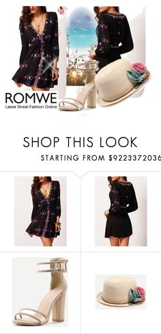 """""""Romwe"""" by jasmin-ba ❤ liked on Polyvore featuring vintage"""