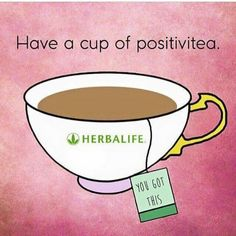 Have a cup of positive tea! More