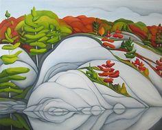 Deb Gibson, Muskoka 2012 oil on canvas, Canadian Painters, Canadian Artists, Art Pictures, Photos, Art Pics, Artist Portfolio, Landscape Paintings, Landscape Quilts, Oil Painting On Canvas