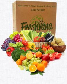 Si de verdad le quieres, regalale salud!   -frutas y verduras ecológicas de temporada; -otros productos ecológicos (espaguetis, lenteja, tomate frito, atún, arroz, garbanzo, macarrones...);  -plantas aromáticas bio.  www.freshvana.com