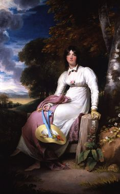 Sophia,_Lady_Burdett_by_Sir_Thomas_Lawrence.jpg (2400×3874) Sir Francis's wife, Angela's Mother, nee Coutts