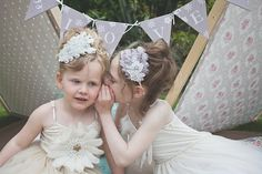 'Bohomaids' by What Katy Did Next ~ Pretty Bohemian Inspired Headpieces & Accessories For Bridesmaids And Flowergirls - Love My Dress UK Wedding Blog