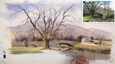 Learn How to Paint a Gently Flowing River with Geoff Kersey | The Art 123