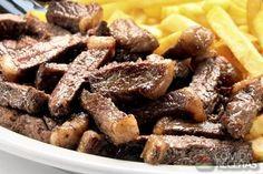 Receita de Tirinhas de picanha - Comida e Receitas