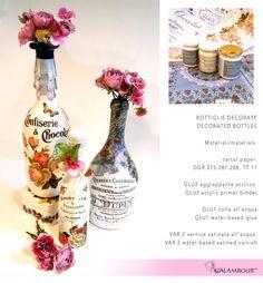 Bottiglie decorate i