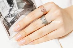 Ringen - really cute vintage puppy adjustable ring,RN2464ab - Een uniek product van infinitine op DaWanda