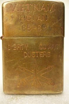 Hoi An 68 69 Vietnam Zippo Vintage War Time Lighter | eBay