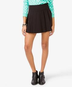 pleated mini skirt  $17.80
