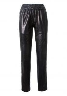 Isabel Marant black leather pants