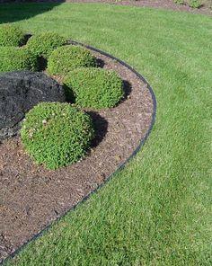 Rasenkante Im Garten Gestalten U2013 Eine Auswahl An Materialien #auswahl  #garten #gestalten #