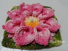 Crochet Flower Patterns, Crochet Motif, Crochet Flowers, Holidays And Events, Handicraft, 3 D, Diy And Crafts, Crochet Earrings, Geek Stuff