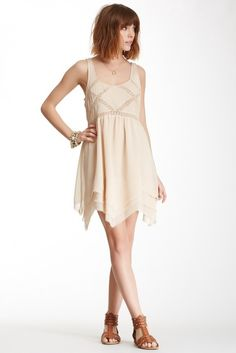 Looks comfy! What do you think? Billabong Anyone There Crochet Trim Dress