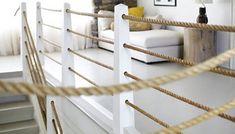 Horizontal Rope Railing