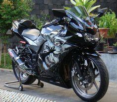 variasi ekstrem kawasaki ninja Kawasaki 250, Kawasaki Bikes, Kawasaki Ninja 250r, Vr, Cars And Motorcycles, Honda, Biker, Concept, Ideas