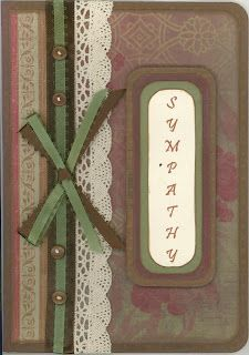 """Created by Carlene Prichard: Chatterbox Creations-1.blogspot.com - 7-3-11.  """"Sympathy Cards to Remember Their Grandmother.""""   See Blog for information."""