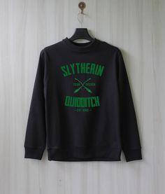 Slytherin Quidditch Harry Potter Shirt Sweatshirt Sweater von SaBuy