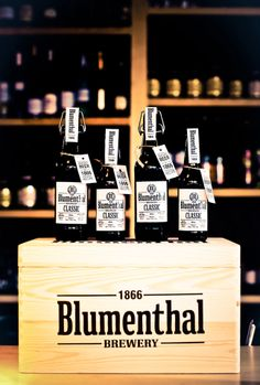 Blumenthal Original Beer. Designed by Moon Troops. Lithuania.