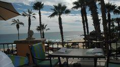 Having lunch with my friends at Tomates, Hacienda del Mar, Los Cabos!!