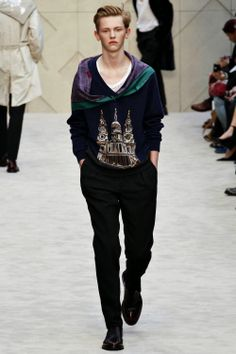 Burberry Prorsum Fall/Winter 2014 - London Collections: MEN #LCM | Male Fashion Trends