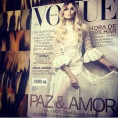 Natasha Poly for Vogue Brazil