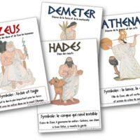Nous allons commencer un travail sur la mythologie grecque, je mettrai en ligne au fur et à mesure (je suis à la bourre !!!!). Voici pour commencer les affiches sur les douze dieux de l'Olympe. ...