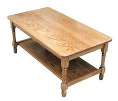 Amish Outlet Store : Country Coffee Table in Oak