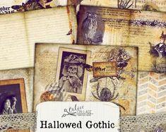 Gothic journal   Etsy