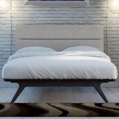 $1,004 California Kind Found it at AllModern - Nashua Upholstered Platform Bed
