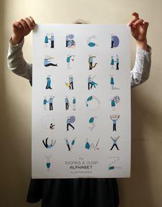 children's alphabet by Pintameldia