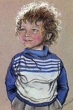 CPA . Les Enfants de Paris  de MARIE CLAUDE MONCHAUX .