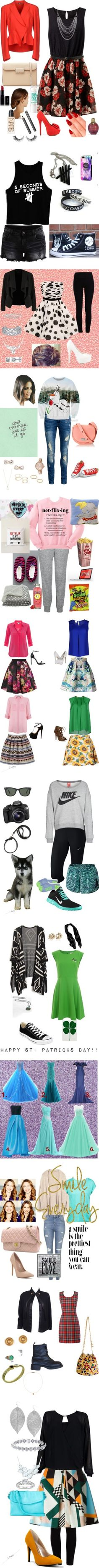 """""""All My Outfit!!!"""" by behappy983 ❤ liked on Polyvore"""