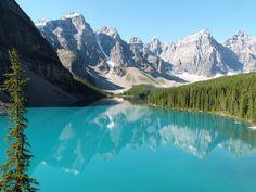 Lac Morraine   Découvrez les petites merveilles de l'Ouest canadien